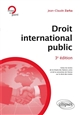 DROIT INTERNATIONAL PUBLIC - 3E EDITION